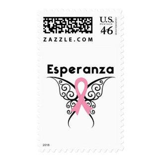 Cancer de Mama - Esperanza Postage Stamps
