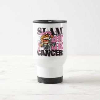 Cáncer de pecho - cáncer de la clavada tazas de café