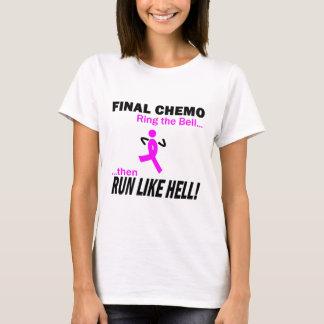 Cáncer de pecho - Chemo final corre mucho Playera