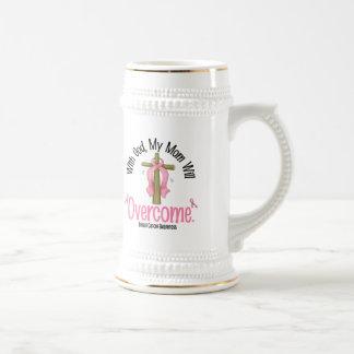 Cáncer de pecho con dios que mi mamá superará jarra de cerveza