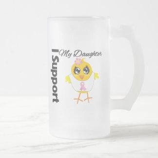 Cáncer de pecho de la ayuda de la hija tazas de café
