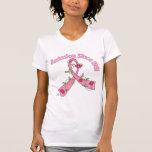 Cáncer de pecho de la remisión desde 1981 camisetas