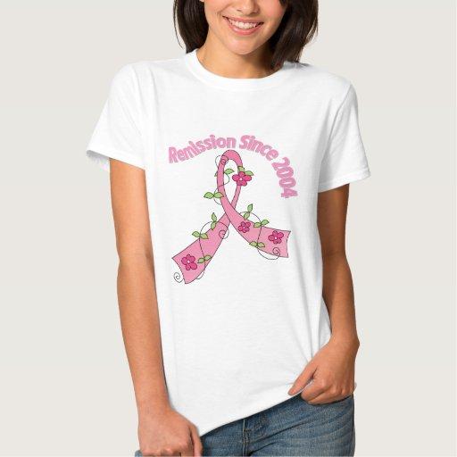Cáncer de pecho de la remisión desde 2004 t-shirt