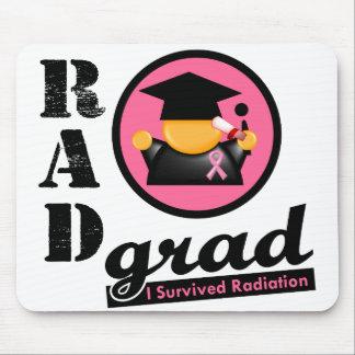CÁNCER de PECHO del graduado de la radiación Alfombrilla De Ratones