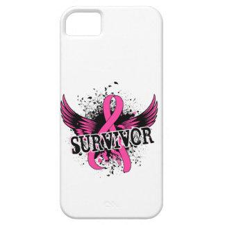 Cáncer de pecho del superviviente 16 funda para iPhone 5 barely there