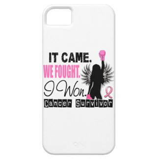 Cáncer de pecho del superviviente 22 funda para iPhone 5 barely there