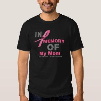 Cáncer de pecho en memoria de mi mamá remera