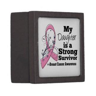 Cáncer de pecho fuerte del superviviente de la cajas de regalo de calidad