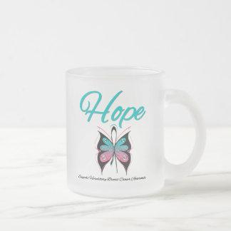 Cáncer de pecho hereditario de la esperanza taza de cristal