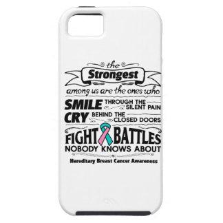 Cáncer de pecho hereditario más fuerte entre funda para iPhone 5 tough