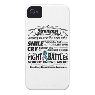 Cáncer de pecho hereditario más fuerte entre iPhone 4 Case-Mate carcasa
