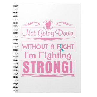 Cáncer de pecho hereditario soy el luchar fuerte cuadernos