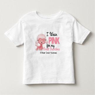 Cáncer de pecho llevo el rosa para mi gran abuela camisetas