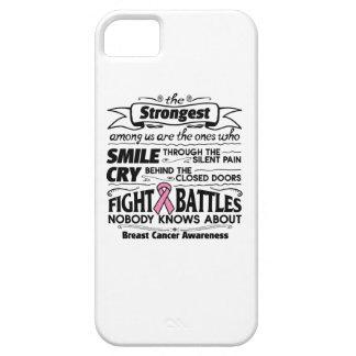 Cáncer de pecho más fuerte entre nosotros iPhone 5 carcasas