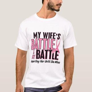 Cáncer de pecho mi BATALLA DEMASIADO 1 esposa Playera