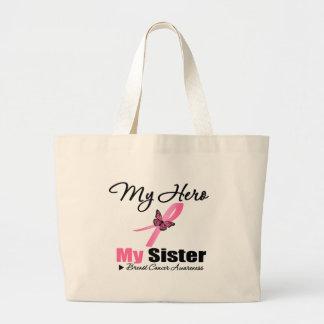 Cáncer de pecho mi héroe mi hermana bolsas