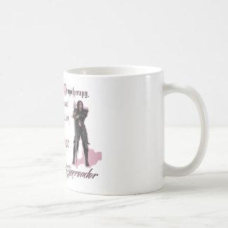 Cáncer de pecho - nunca me entregaré taza