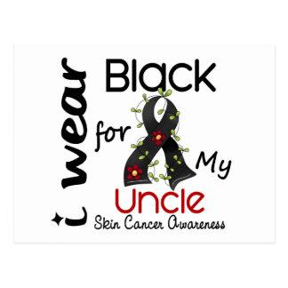 Cáncer de piel llevo el negro para mi tío 43 postales