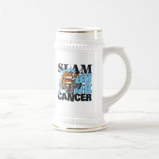 Cáncer de próstata - cáncer de la clavada jarra de cerveza
