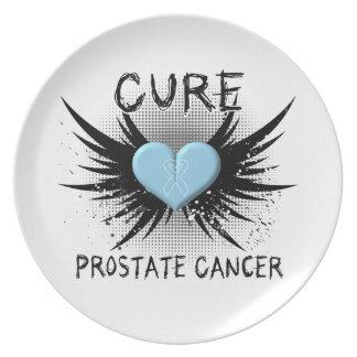 Cáncer de próstata de la curación plato de cena