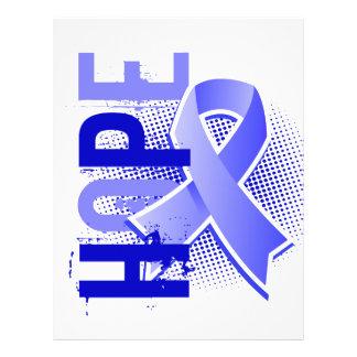 "Cáncer de próstata de la esperanza 2 folleto 8.5"" x 11"""