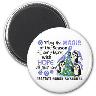 Cáncer de próstata de los pingüinos del navidad iman