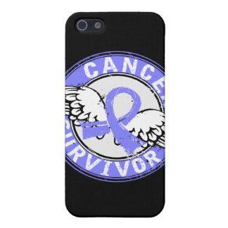 Cáncer de próstata del superviviente 14 iPhone 5 protectores