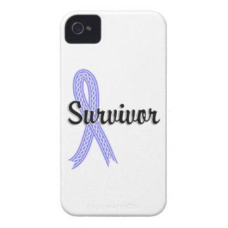 Cáncer de próstata del superviviente 17 funda para iPhone 4