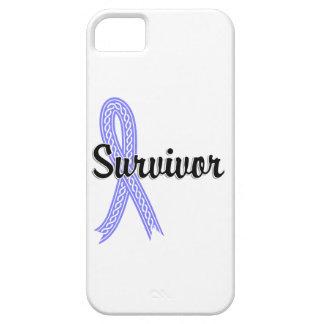 Cáncer de próstata del superviviente 17 funda para iPhone SE/5/5s