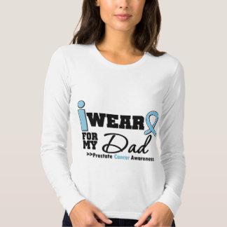 Cáncer de próstata llevo azul claro para mi papá polera