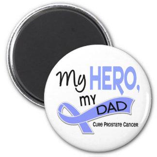 Cáncer de próstata MI HÉROE MI PAPÁ 42 Imán De Frigorífico