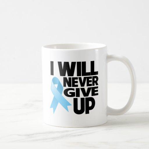 Cáncer de próstata que nunca daré para arriba tazas