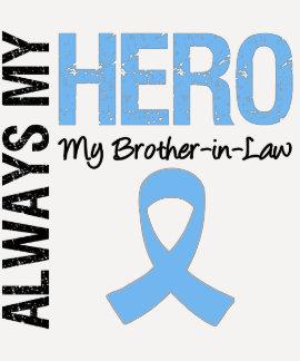 Cáncer de próstata siempre mi héroe mi cuñado playeras
