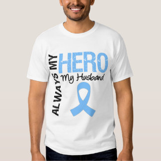 Cáncer de próstata siempre mi héroe mi marido remera