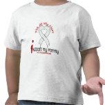 Cáncer de pulmón apoyo a mi mamá camiseta