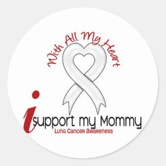 Cáncer de pulmón apoyo a mi mamá etiquetas