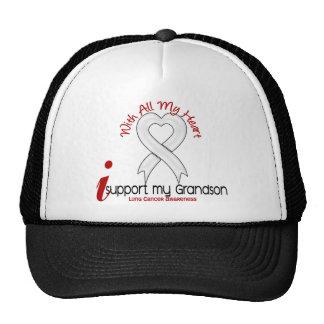 Cáncer de pulmón apoyo a mi nieto gorras de camionero