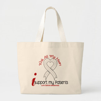 Cáncer de pulmón apoyo a mis pacientes bolsas de mano