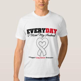 Cáncer de pulmón cada Srta. My Husband del día I Camisas
