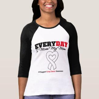 Cáncer de pulmón cada Srta. My Mom del día I Camiseta