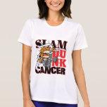 Cáncer de pulmón - cáncer de la clavada camiseta