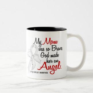 Cáncer de pulmón de la mamá del ángel 2 taza de café