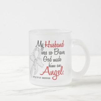 Cáncer de pulmón del marido del ángel 2 taza de café