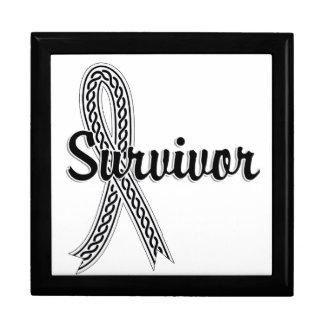 Cáncer de pulmón del superviviente 17 cajas de regalo
