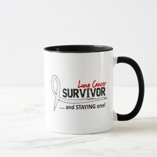 Cáncer de pulmón del superviviente 8 taza
