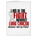 Cáncer de pulmón EN el amigo de la LUCHA 1 Tarjeton