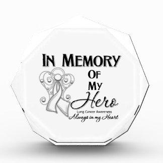Cáncer de pulmón en memoria de mi Hero png