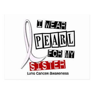 Cáncer de pulmón LLEVO a la hermana de la PERLA 37 Postal