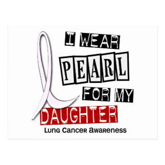 Cáncer de pulmón LLEVO a la hija de la PERLA 37 Tarjetas Postales