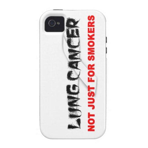 Cáncer de pulmón: No apenas para los fumadores Case-Mate iPhone 4 Carcasa
